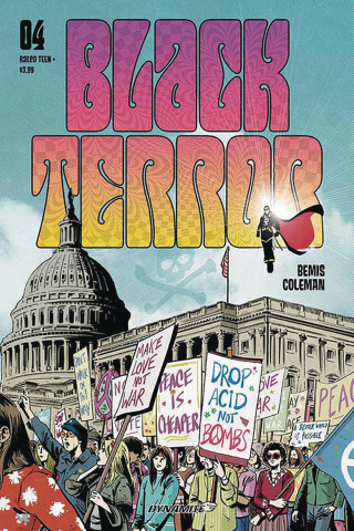 Black Terror #4 (Fornes Cover)