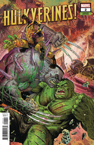 Hulkverines #2 (Moore Cover)