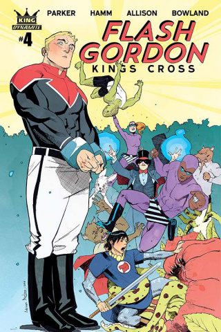 Flash Gordon: Kings Cross #4 (Nelson Cover)