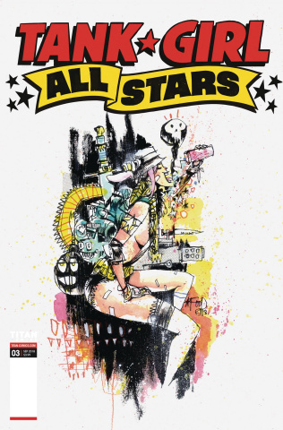 Tank Girl All Stars #3 (Mahfood Cover)