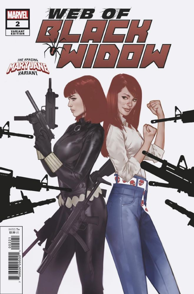 Web of Black Widow #2 (Oliver Mary Jane Cover)