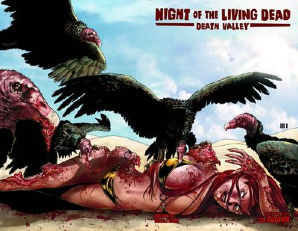 Night of the Living Dead: Death Valley #4 (Wrap Cover)