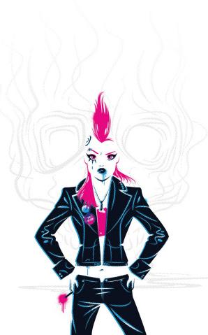 Punk Mambo #0 (Hughes Cover)