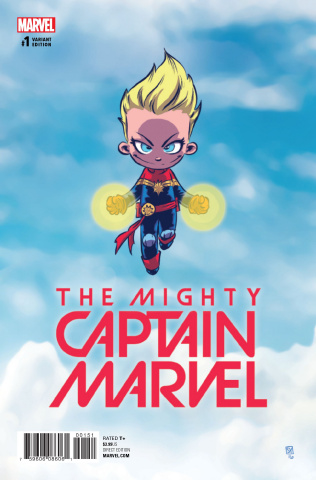 The Mighty Captain Marvel #1 (Young Cover)