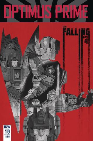 Optimus Prime #19 (Coller Cover)