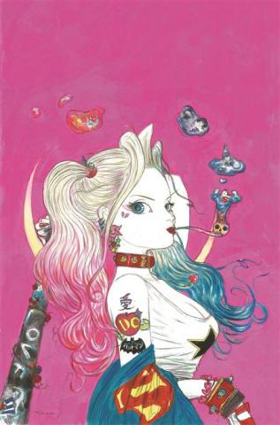 Harley Quinn #1 (Team Yoshitaka Amano Card Stock Cover)