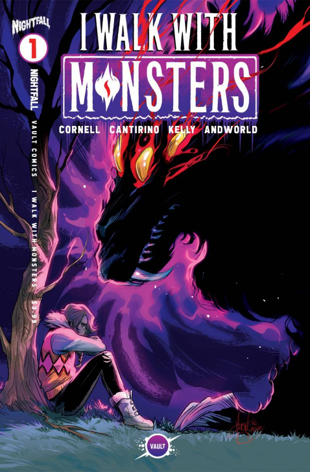 I Walk With Monsters #1 (30 Copy Andolfo Foil Cover)