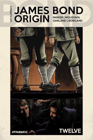 James Bond: Origin #12 (Moustafa Cover)
