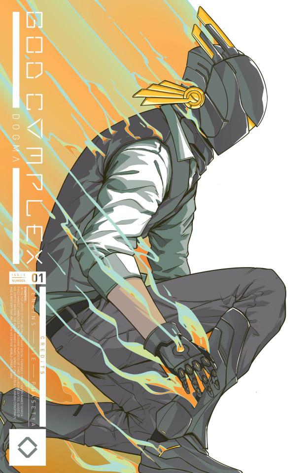 God Complex #1 (2nd Printing)