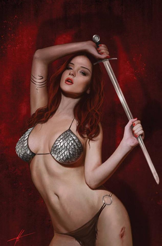 The Invincible Red Sonja #3 (30 Copy Cohen Virgin Cover)