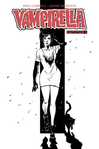 Vampirella #2 (5 Copy Vicieli B&W Cover)