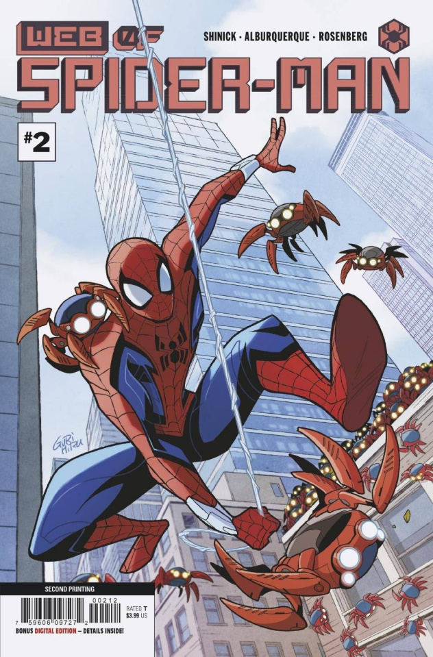 Web of Spider-Man #2 (2nd Printing)