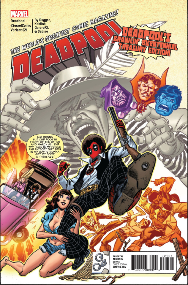 Deadpool #21 (Koblish Cover)