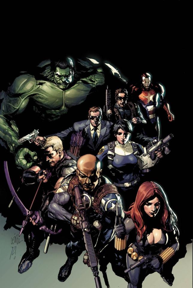 Secret Avengers #1 (Yu Cover)