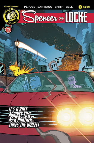 Spencer & Locke #2 (Santiago Jr. Cover)