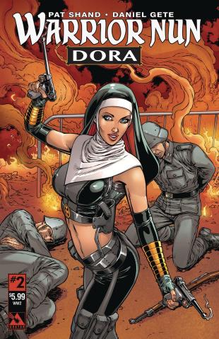 Warrior Nun: Dora #2 (World War II Cover)
