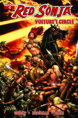 Red Sonja: Vulture's Circle #4 (Anacleto Cover)