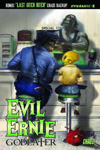 Evil Ernie: Godeater #4 (Parrillo Cover)