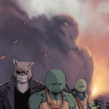 Teenage Mutant Ninja Turtles #90 (Dialynas Cover)