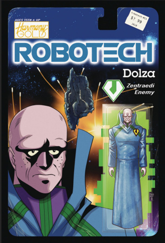 Robotech #11 (Action Figure Cover)