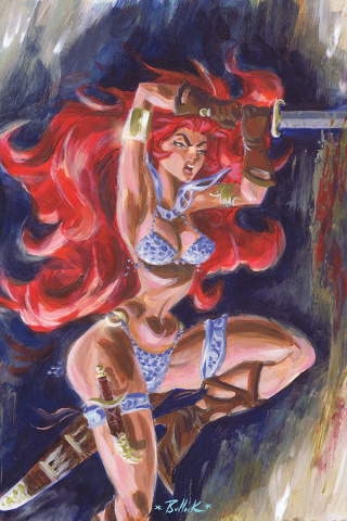 Red Sonja #22 (10 Copy Bullock Virgin Cover)