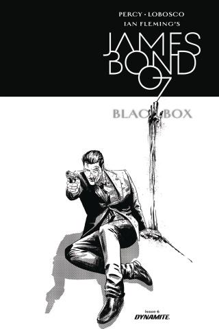 James Bond: Black Box #6 (10 Copy Masters B&W Cover)