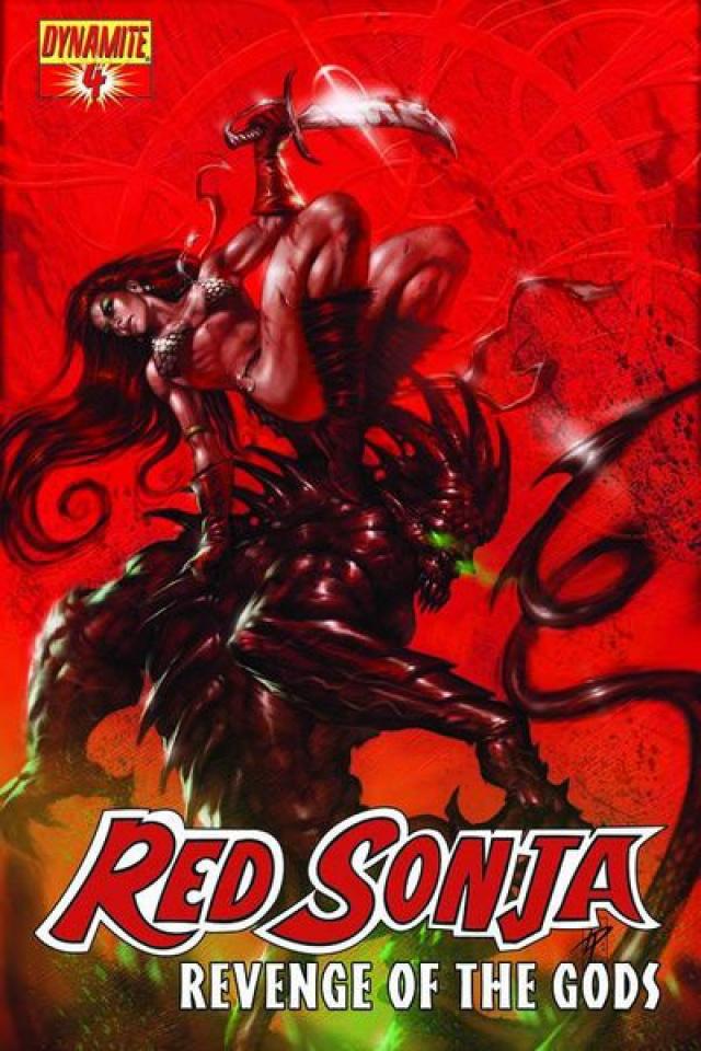 Red Sonja: Revenge of the Gods #4