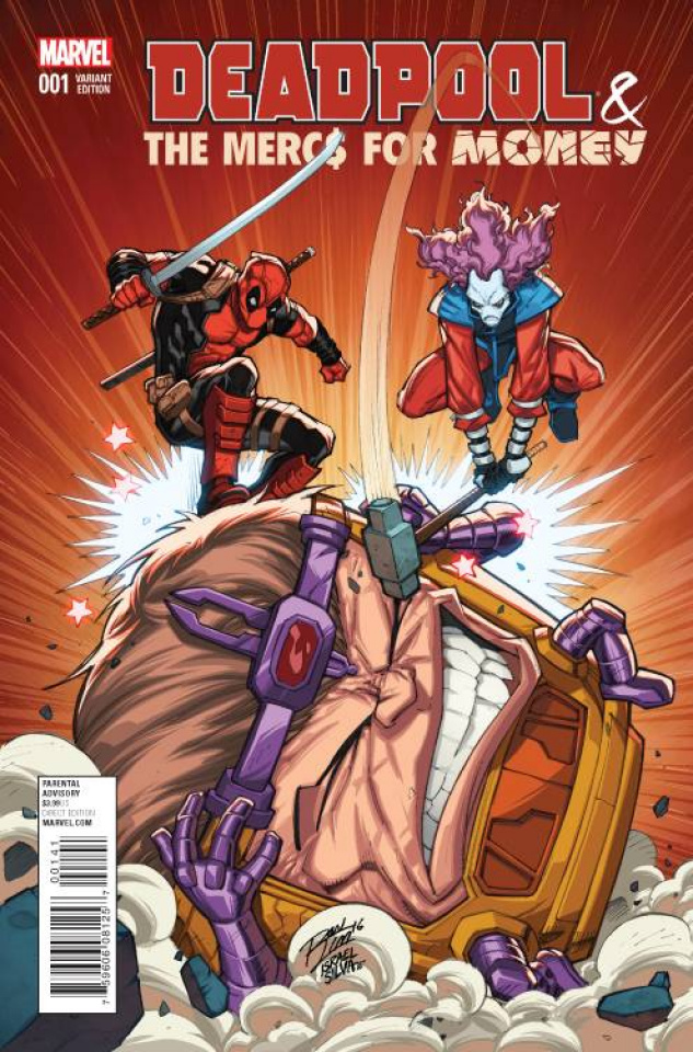 Deadpool and the Mercs For Money #1 (Lim Var Cover)