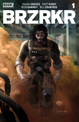 BRZRKR #1 (25 Copy Grampa Cover)