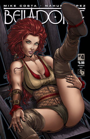 Belladonna #4 (Shield Maiden Cover)