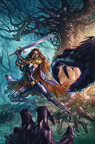 Belle: Beast Hunter #5 (Quah Cover)