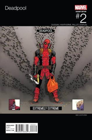 Deadpool #2 (Hawthorne Hip Hop Cover)