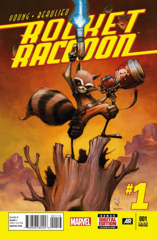 Rocket Raccoon #1 (3rd Printing)