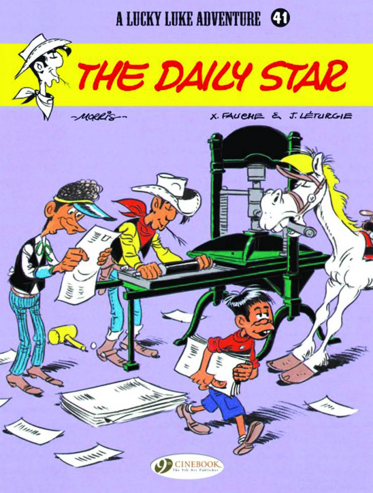 Lucky Luke Vol. 41: The Daily Star