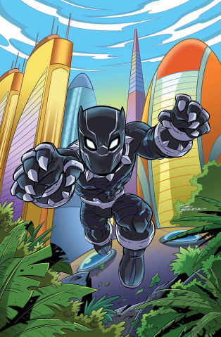 Rise of the Black Panther #3 (Marvel Super Heroes Adventure)