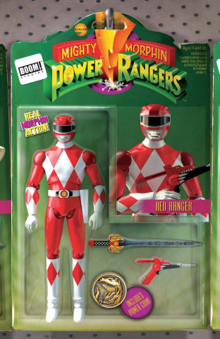 Mighty Morphin' Power Rangers #2 (Unlock Action Figure Cover)