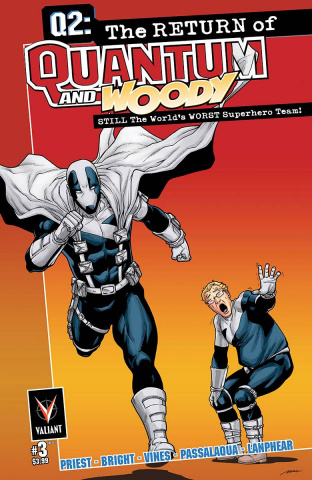 Q2: The Return of Quantum & Woody #3 (10 Copy Perez Cover)