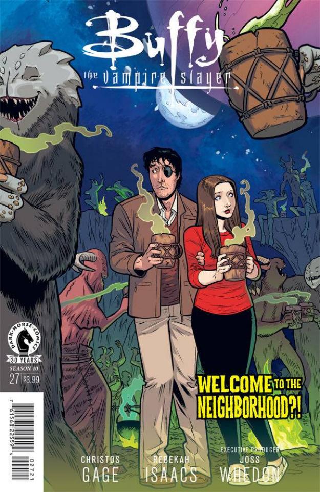Buffy the Vampire Slayer, Season 10 #27 (Isaacs Cover)