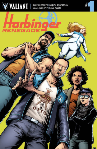 Harbinger: Renegade #1 (Robertson Cover)
