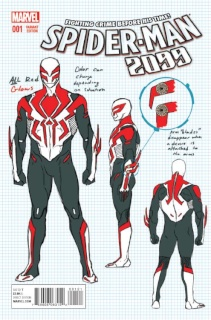 Spider-Man 2099 #1 (Anka Design Cover)