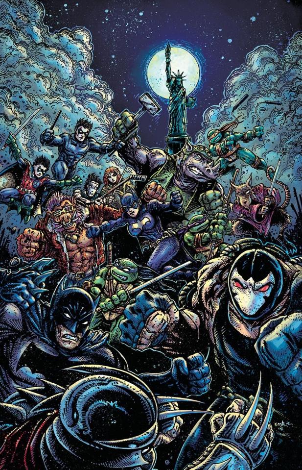 Batman / Teenage Mutant Ninja Turtles II #6 (Variant Cover)