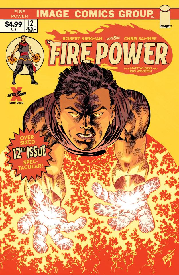 Fire Power #12 (Larsen Cover)
