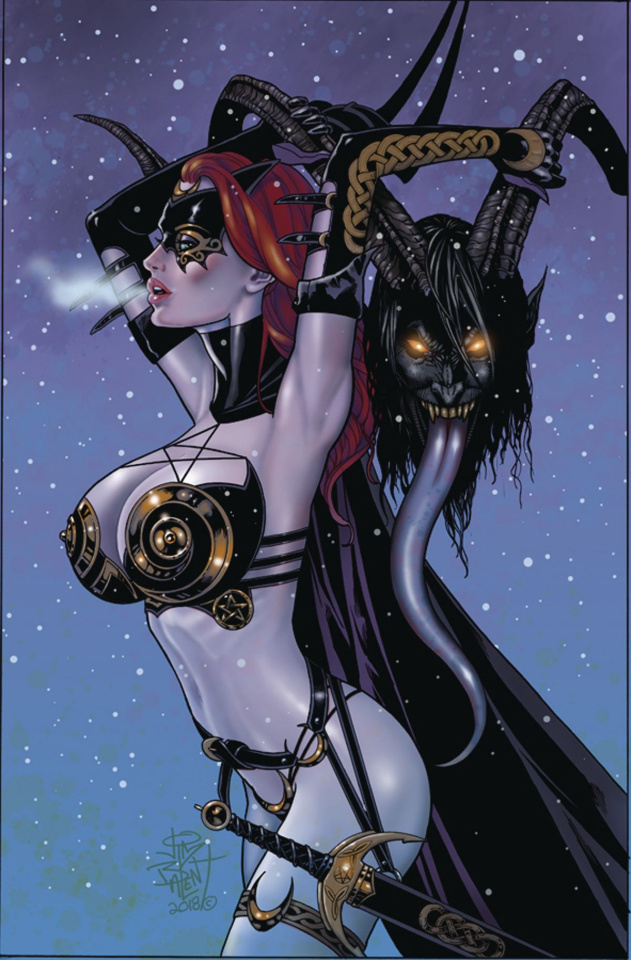Tarot: Witch of the Black Rose #113