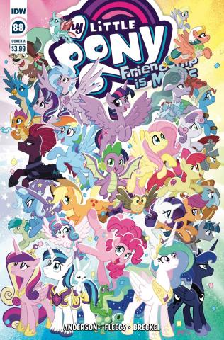 My Little Pony: Friendship Is Magic #88 (Fleecs Cover)