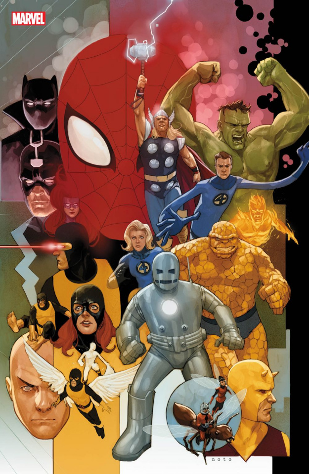 Avengers #12 (Noto Marvel 80th Anniversary Cover)