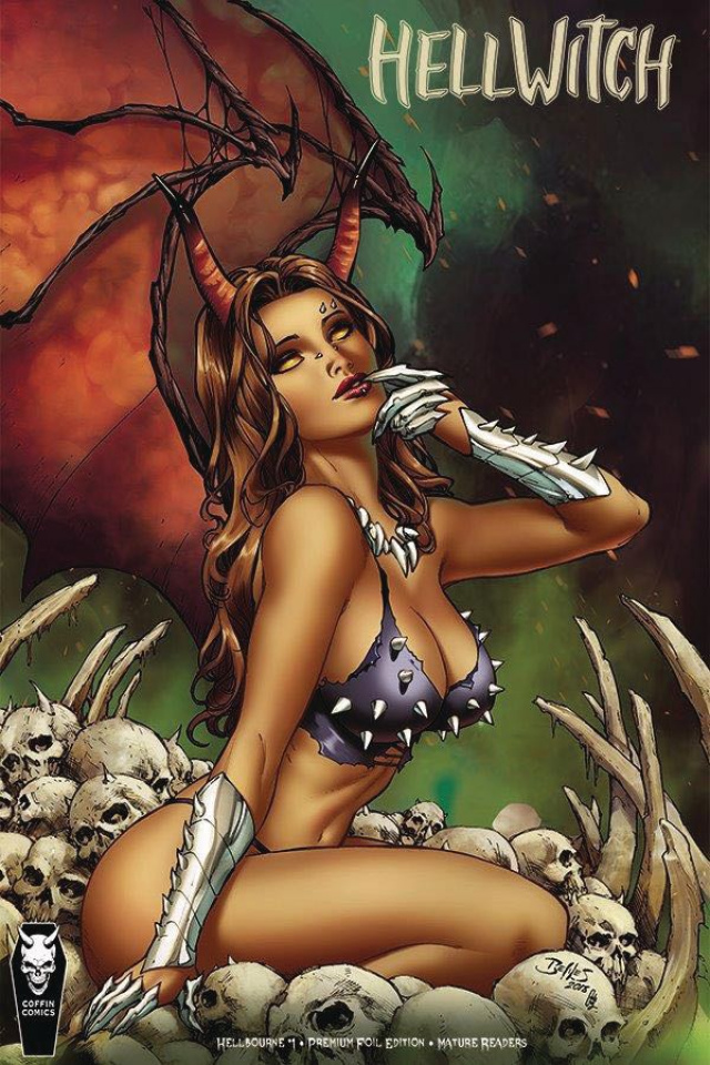 Hellwitch: Hellbourne #1 (Ed Benes Foil Cover)