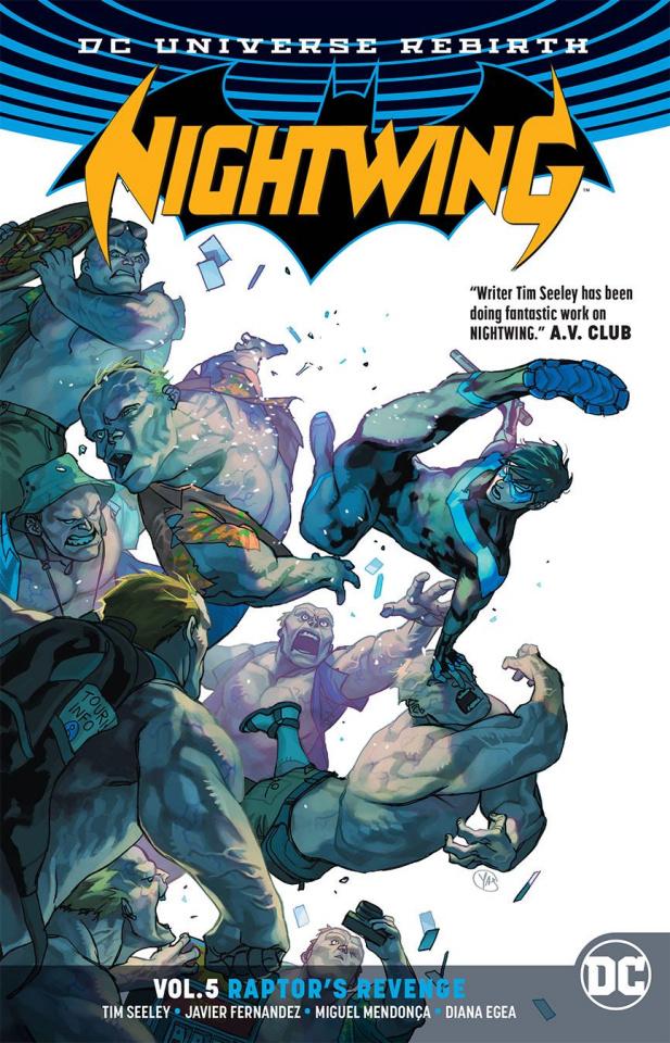Nightwing Vol. 5: Raptors' Revenge (Rebirth)