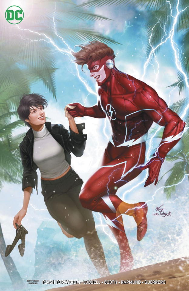 Flash Forward #4 (Variant Cover)