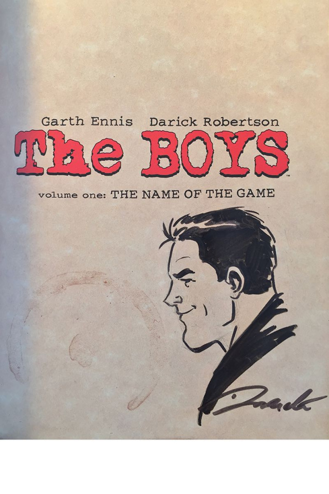 The Boys Vol. 3 (Robertson Signed Omnibus)