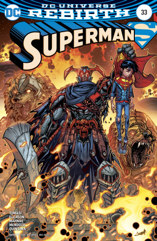 Superman #33 (Variant Cover)